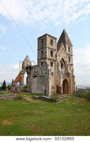 Old church's ruin