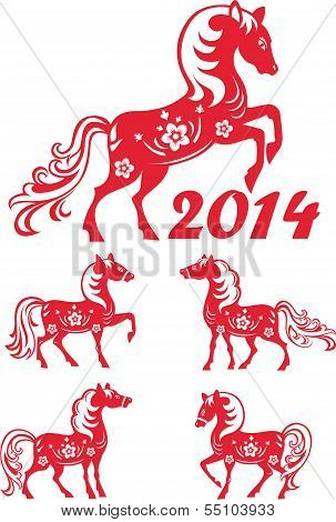 Chinese Year of horse 2014.