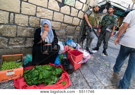 Israeli Soldiers In Jerusalem
