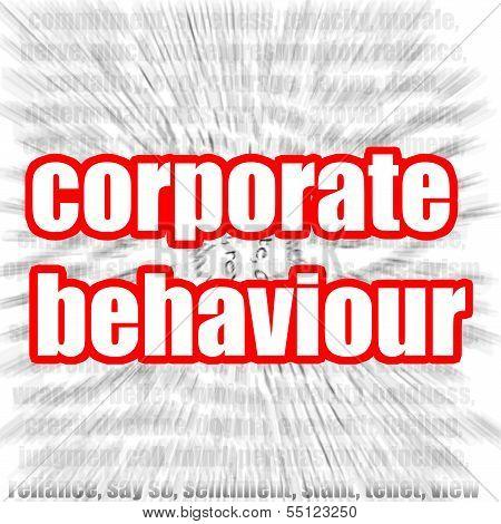 Corporate behaviour