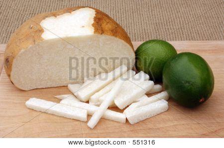 Jicama And Limes