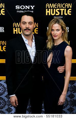 NEW YORK-DEC 8: Actors Jack Huston and Shannan Click attend the