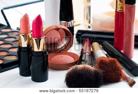 Makeup And Cosmetics Set