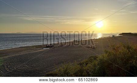 Beach Party Night at Point Mugu, CA
