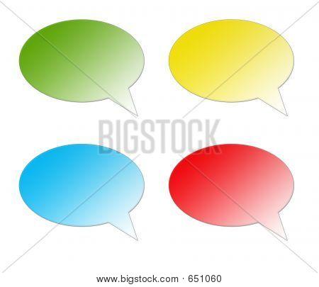 Speech Bubble (color)