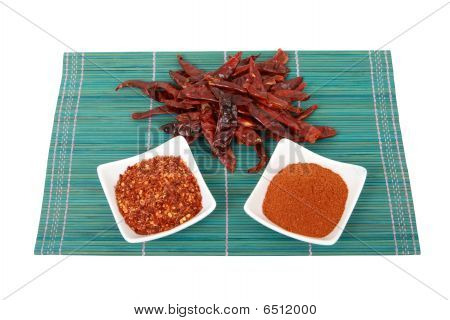 Dried Chillis - Whole, Crushed And Ground