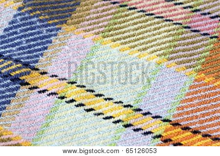 Colorful Of Chintz Square.
