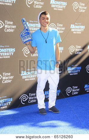 LOS ANGELES - JUN 17:  Adam Irigoyen at the