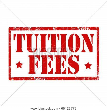 Tuition Fees-stamp