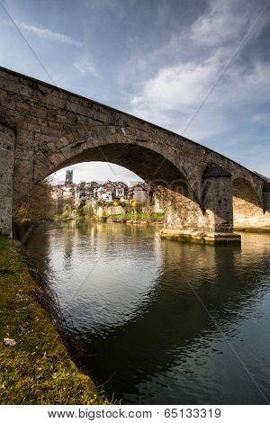Pont du Milieu, Fribourg, Switzerland