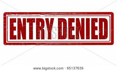 Entry Denied