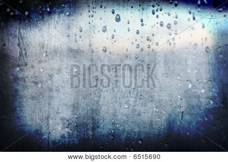 Grunge Abstract Droplet Rain Background