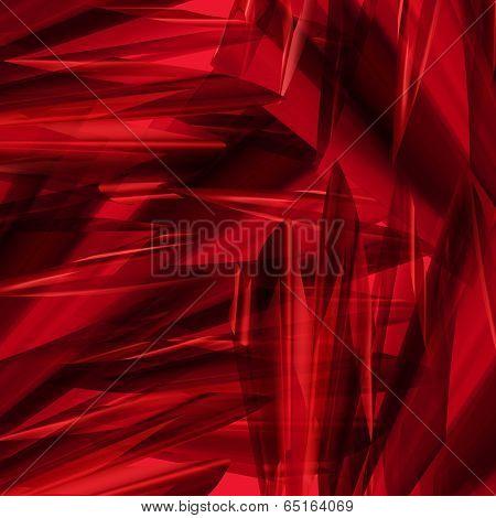 Angular Red Abstract