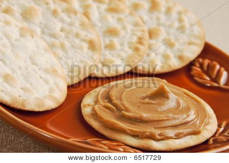 Peanutbutter On Cracker