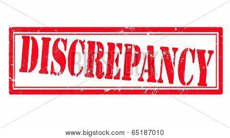 Discrepancy Stamp