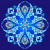 Series of patterns designed using the old Ottoman motifs poster
