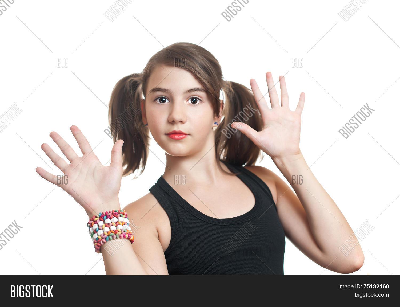 Beautiful Teen Girl Image  Photo Free Trial  Bigstock-1040