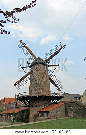 Close-up Windmill