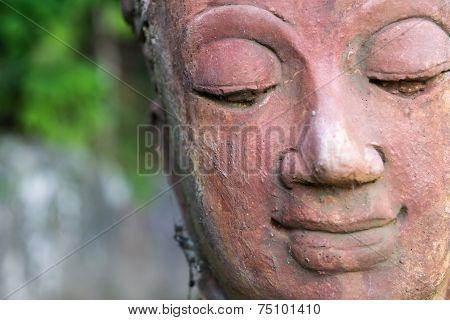 Smile Buddha's Face