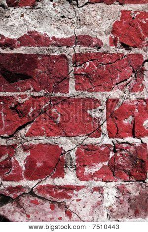 Dangerous Blue Brickwall