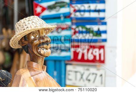 Handcrafted Souvenirs In Trinidad, Cuba