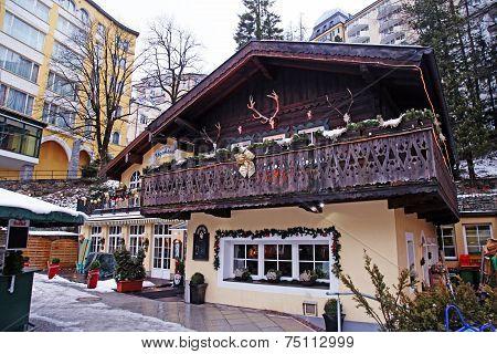 Bad Gastein - One Of The Most Popular Ski Resort In The Austria