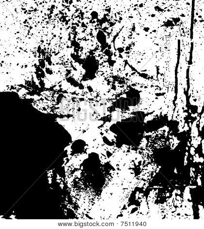 grungy plaint or ink splatter background in vector format