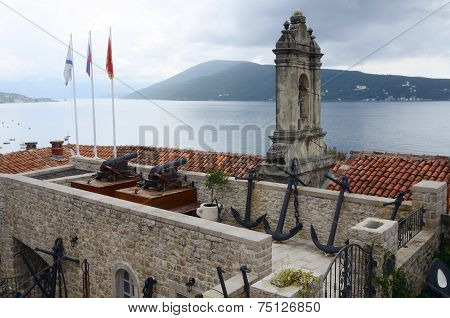 Fort In The Old Town Of Herceg Novi, Montenegro