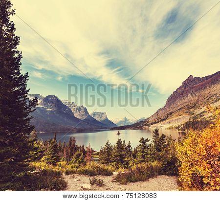 Autumn in Glacier NP,Montana,USA