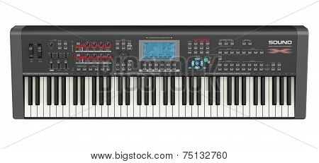 Professional musical synthesizer