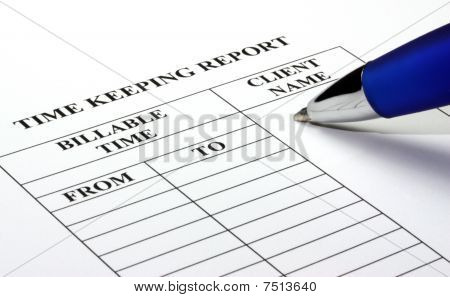 Legal Time Keeping Report