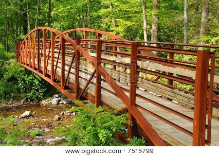 Bridge Over Countryside Creek