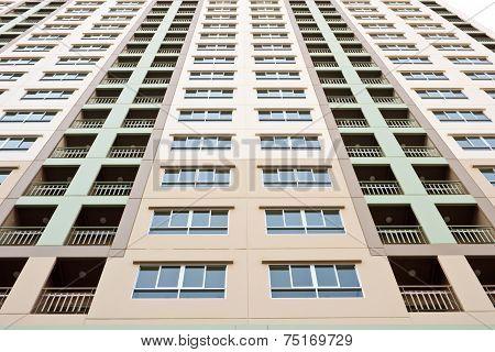 Apartment Condo Building Detail