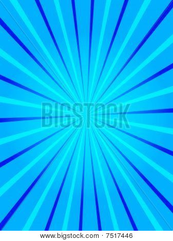 poster of Blue rays - useful as a background for flyer designs, cd covers, etc.