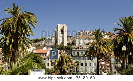 Lisbon, The Old City And The Cathedral