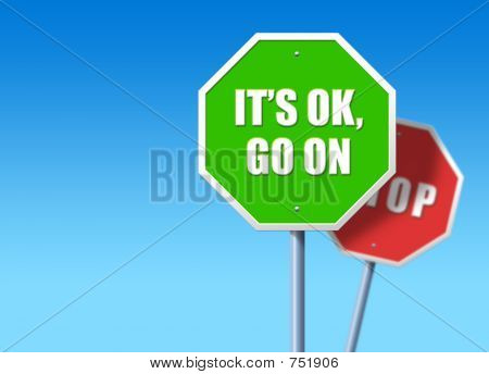 It's Ok, Go On