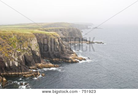 Cliff near Dingle