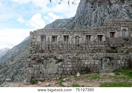 Ruins Of Ancient Fortress