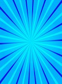 Blue rays - useful as a background for flyer designs, cd covers, etc. poster