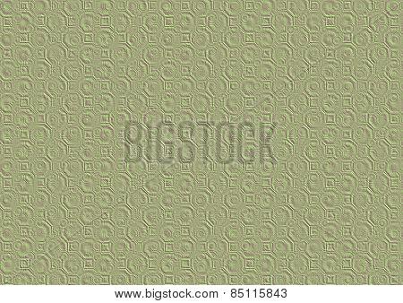 Iridescent Green Purple Embossed Paper 3D Texture