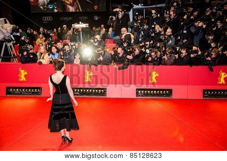 BERLIN, GERMANY - FEBRUARY 13: Helena Bonham Carter attends the 'Cinderella' premiere during the 65th Berlinale Film Festival at Berlinale Palace on February 13, 2015 in Berlin, Germany.