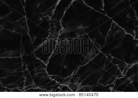 Black marble patterned natural patterns texture background.