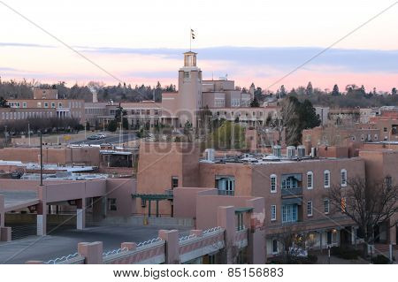 Sunrise Over Santa Fe