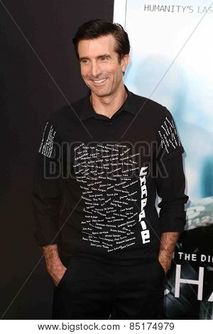 NEW YORK-MAR 4: Actors Sharlto Copley attends the premiere of