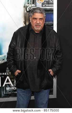 NEW YORK-MAR 4: Actor Vincent Pastore attends the premiere of