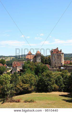 Curemonte, Limousin, France