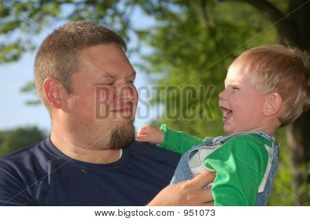 At The Park With Daddy
