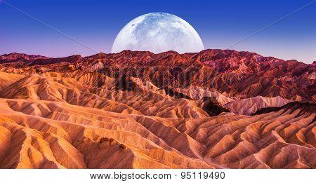 Death Valley Scenic Night