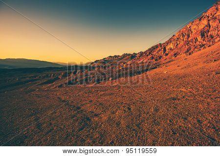 Harsh California Landscape