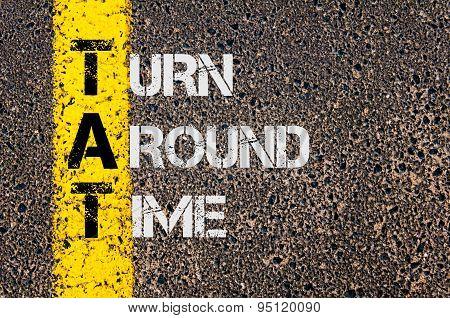 Business Acronym Tat As Turn Around Time